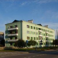 Первый многоэтажный дом в городе, Каменец