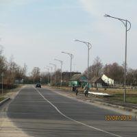 Улица Леваневского апрель 2013, Каменец
