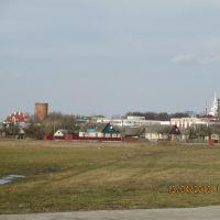 Вид на центр города апрель 2013, Каменец