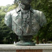 Kobrin Town Public Park  Bust of A. Suvorov., Кобрин