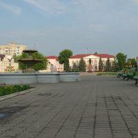 Площадь Ленина, Лунинец