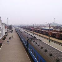 Luninets railway station, Лунинец
