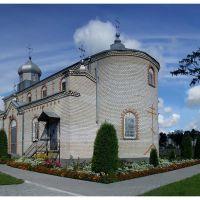 Pravoslavný chrám Povýšení svatého Kříže v  Ljachaviči, Ляховичи