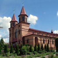 Katolický kostel Srdce pana Ježíše, Ljachavichi, Belarus, Ляховичи