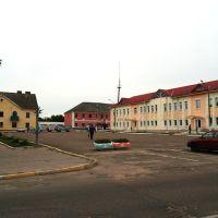 площадь Победы, Ляховичи