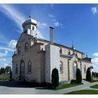 pravoslavný chrám Povýšení svatého Kříže, Ляховичи