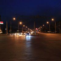 Скрыжаванне вуліцы Маскоўскай, Партызанскага праспекта і праспекта Рэспублікі, Минск