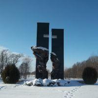 Памятник сожжённым деревням, Пружаны