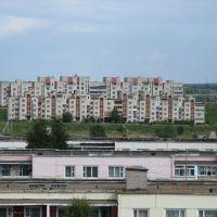 Вид на жилые дома с восьмого этажа, Барань