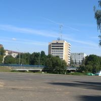 Bridge over Adrov / Baran / Belarus, Барань