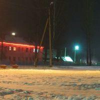 Biahomĺ near bus station, Бегомль
