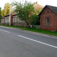 Buildings of former distillery in Biahomĺ, Бегомль