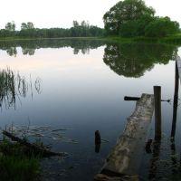 Biahomĺ lake, Бегомль