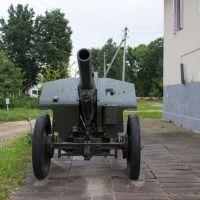 Бешенковичи. Пушка у краеведческого музея, Бешенковичи
