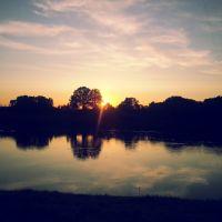 Закат на Западной Двине, Бешенковичи