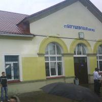 ст.Богушевская - зал ожидания, Богушевск