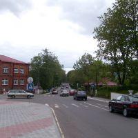 In the city centre, Braslaw, Браслав