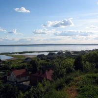 View from Braslaw hill, Браслав