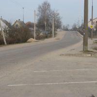 вместо дороги раньше была узкоколейка, Браслав