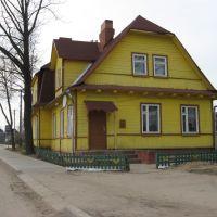 бывшее здание жд вокзала, ныне жилой дом, Браслав