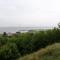 Вид на озеро Дривяты и Браслав с Замковой горы A view of Driviaty lake and Braslav from the Fortress hill, Браслав