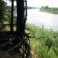 Западная Двина в Верхнедвинске. Western Dvina Verkhnedvinsk., Верхнедвинск