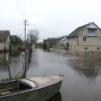 Разлив реки Дриса. Верхнедвинск. Dries River spill. Verkhnedvinsk., Верхнедвинск