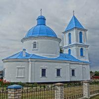 orthodox church in Drysa / carkva ŭ Drysie, Верхнедвинск