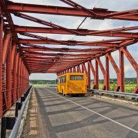 old bridge over Drysa river  / stary most praz Drysu, Верхнедвинск