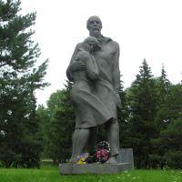 Белоруссия.Памятник жертвам фашизма в Верхнедвинске., Верхнедвинск