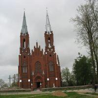 Vidzy.Catholic church., Видзы