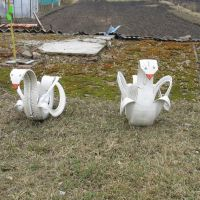 """Лебядзі"". ""Swans"" from the old tires., Видзы"