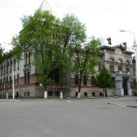 The building of the former Land Country Bank in Viciebsk (Now there is Viciebsk State Academy of Veterinary Medicine), Витебск