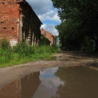 Siarednienabiarežnaja street in Viciebsk, Витебск