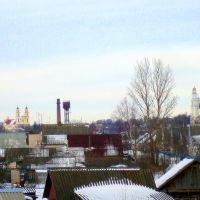 Вид от дороги Вильнюс-Полоцк, Глубокое