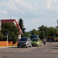 Skryžavańnie vulic Lenina i Čyrvonaarmiejskaj, Глубокое