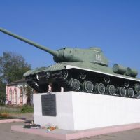 2WW tank in Garadok, Городок