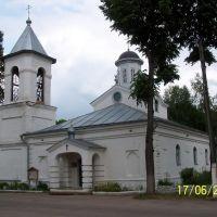 Церковь Троицкая, Городок