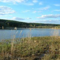 Озеро Луговое., Городок