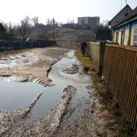 Улица Зареченская. Паводок 2009г., Городок