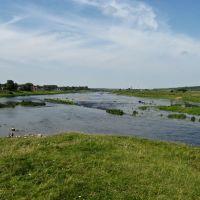 На краю острова, где сливаются две реки Дисна и Западная Двина (12.08.2008), Дисна