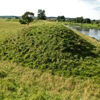 Остатки крепости С.Батория 1563 года на острове (10.08.2009), Дисна