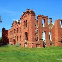 Развалины больницы, Дисна