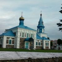 Докшыцы. Пакроўская царква. 1903г., Докшицы