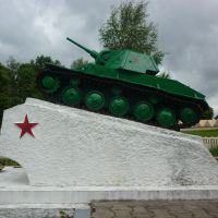 Мемориал в пгт. Езерище, Езерище