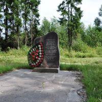 Памятник евреям Езерища расстрелянным вблизи этого места в 1941-1942г., Езерище