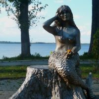 Mermaid statue / Lepel / Belarus, Лепель