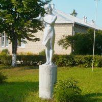 Statue / Liozno / Belarus, Лиозно