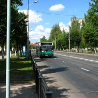 Новополоцк 2010 Любава переход, Новополоцк