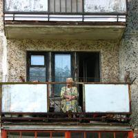 Новополоцк  2010 бабушка и котик, Новополоцк